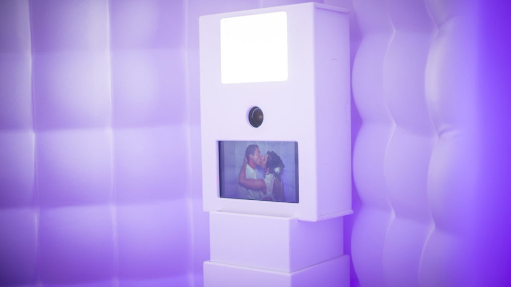Photobooth cabine dans le Jura