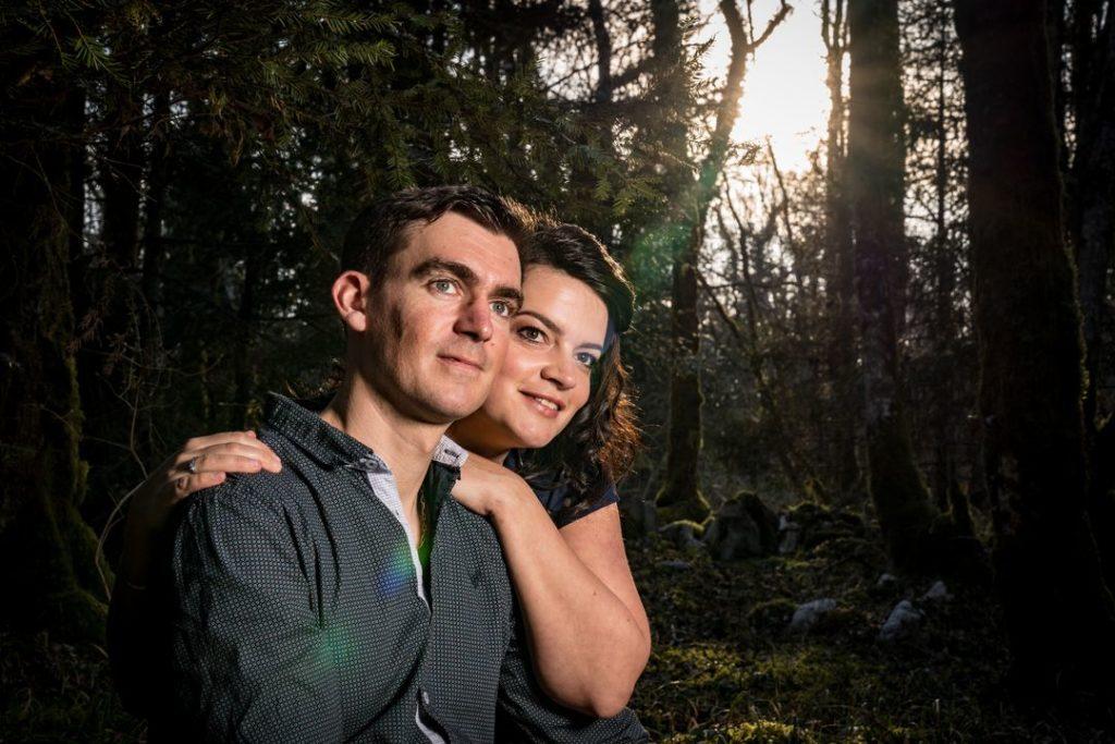 Séance d'engagement dans la forêt de Poligny